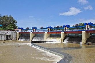 Karamana River - Aruvikkara Dam on Karamana River