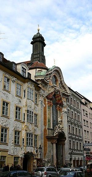 Egid Quirin Asam - Asamkirche in Munich