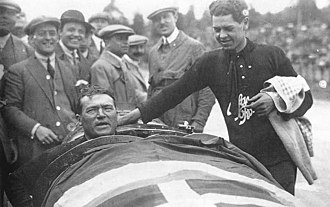 Belgian Grand Prix - Antonio Ascari, winner Belgian Grand Prix, 1925