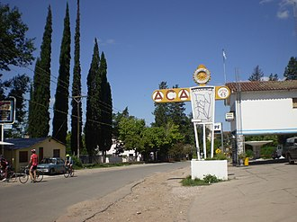 Argentine Automobile Club - One of the ACA's network of over 230 service stations