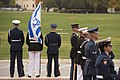 Ash Carter meets Moshe Ya'alon at National Defense University, Washington D.C., Oct. 27, 2015(21910165073).jpg
