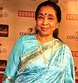 Asha Bhosle at 18th Annual Colors Screen Awards 2012.jpg