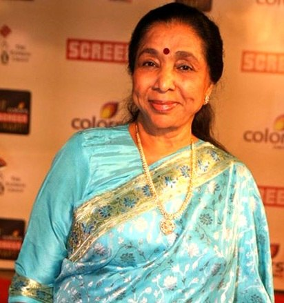Asha Bhosle at 18th Annual Colors Screen Awards 2012