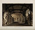 Ashmolean Museum, Oxford; panoramic view of the statue galle Wellcome V0014195.jpg