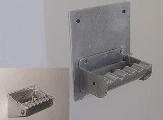 Ashtray - Wall-mounted ashtray
