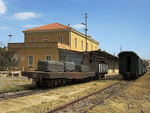 Eritrean Railway - Railway station at Asmara