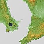 Ata Caldera Relief Map, SRTM-1 (Unmarked).jpg