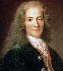 François-Marie Arouet (Voltaire), Porträt von Nicolas de Largillière (nach 1724/1725 entstanden) (Quelle: Wikimedia)