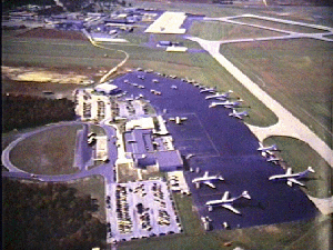 Atlantic City International Airport - An early photo of the Atlantic City Airport Terminal