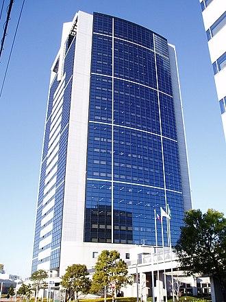 Atsugi, Kanagawa - The Atsugi AXT office building lies south of central Atsugi, near the interchange of the Tōmei Expressway