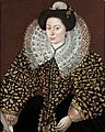 Attributed to Sir William Segar Portrait of a Lady.jpg