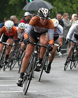Aude biannic stage two womens tour 2014.jpg