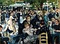 Auguste Renoir - Dance at Le Moulin de la Galette - Musée d'Orsay RF 2739 (derivative work - AutoContrast edit in LCH space).jpg