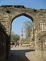 Aurnagabad Fort Entrance with Chand Minar, Aurangabad, Maharastra, India.jpg