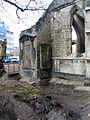Aushub per Bagger 1m Alter St. Nikolai-Friedhof Nikolaikapelle Hannover, 05 Blick Richtung Gewerkschaftshaus, 1.JPG