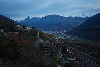 Ausserberg - Ausserberg village