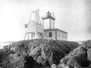 Avery Rock Light - Image: Avery Rock Light, Maine