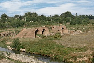 Barda, Azerbaijan - Ancient bridge in Barda