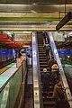 BART escalator at Embarcadero station, November 2018.jpg