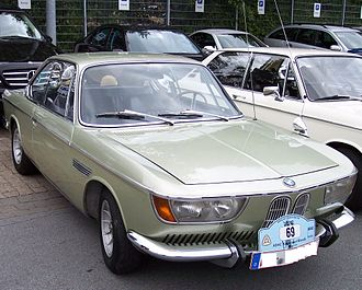 BMW E9 - BMW 2000CS, from which the E9 platform was developed