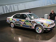 BMW 525i Art Car - Esther Mahlangu (1991).jpg