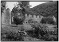 BOILING HOUSE FROM NORTHWEST, HORSE MILL IN LEFT FOREGROUND - Estate Annaberg, Annaberg, St. John, VI HABS VI,2-MABA,1-8.tif