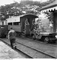 BORNEO, JEEP TRAIN LEAVES BEAUFORT TO MEMBAKUT.JPG