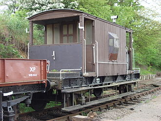 "Brake van - British Railways ""standard"" brake van"