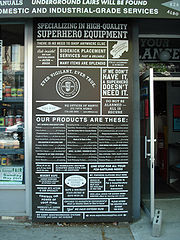 El almacén de los superhéroes - La Brooklyn Superhero Supply Co.