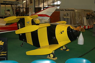 Starr Bumble Bee II - Starr Bumble Bee stored in Pima Air Museum, Tucson, AZ