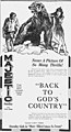 Back to God's Country 1919 - newspaper-ad.jpg