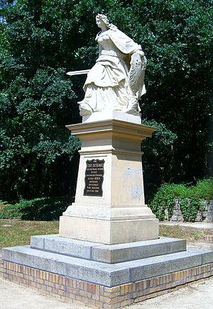 Gustav Eberlein - Image: Bad Düben Kurpark Germaniadenkmal (1)