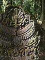 Bad Rappenau - Heinsheim - Jüdischer Friedhof - Grabstein mit Behang-Ornament 1.jpg