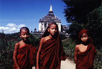 English: Bagan, Burma-Myanmar, That-byin-nyu T...