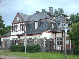 Dill Railway - Rudersdorf station