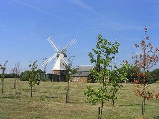 Orsett village in the United Kingdom