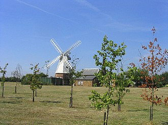 Baker Street Mill, Orsett - The converted mill, July 2005