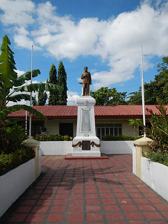 """Francisco Balagtas - """"Pook na Sinilangan ni Balagtas"""" Monument in Panginay, Balagtas, Bulacan"""