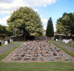 Baldock Cemetery - Image: Baldock Cemetery Cremations