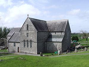 Ballintubber Abbey - Ballintubber Abbey, eastern elevation