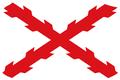 Bandera cruz de san andres aspa de borgona.png