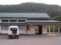 Banetsutousen Kawamae eki 1.jpg