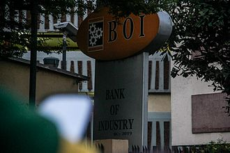 The Bank of Industry - Image: Bank of Industry, Nigeria