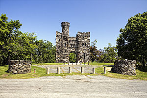 Bancroft Tower - Image: Bankroft Tower View