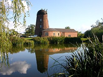 Barby, Northamptonshire - Barby Mill, now a private home