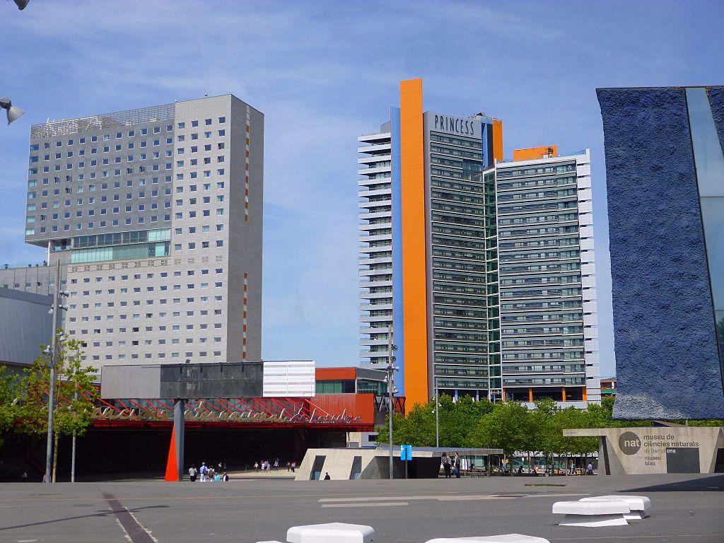 File barcelona museu blau edifici f rum hotel for Hotel barcelona barcelona
