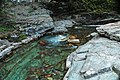Baring Creek (Sunrift Gorge, Glacier National Park, Montana, USA) 8 (19880135818).jpg
