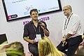 Bart Grugeon interviews Yochai Benkler at the Agora.jpg