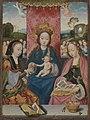 Bartholomäus Bruyn d. Ä. - Maria mit Kind und den hll. Margaretha und Dorothea - WAF 155 - Bavarian State Painting Collections.jpg