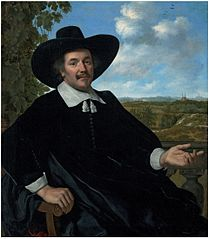Portrait of a gentleman, three-quarter-length, seated, before a balustrade